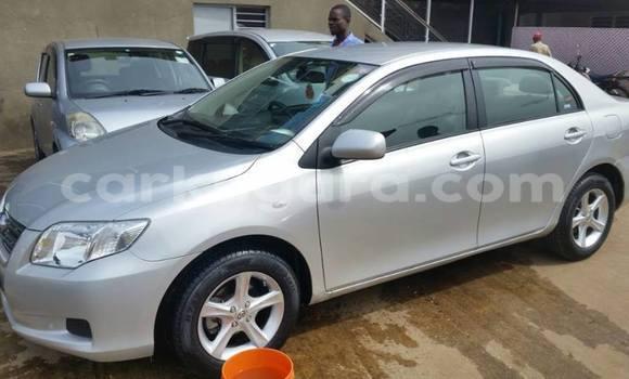 Acheter Occasion Voiture Toyota Axio Gris à Mairie, Bujumbura