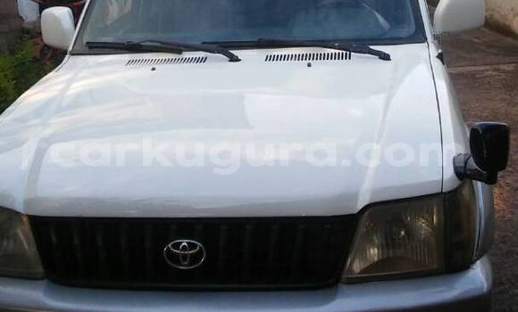 Acheter Occasion Voiture Toyota Land Cruiser Prado Noir à Mairie, Bujumbura