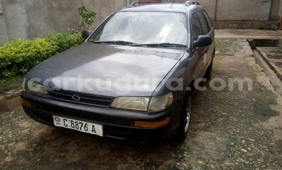 Acheter Occasion Voiture Toyota Corolla Noir à Mairie, Bujumbura