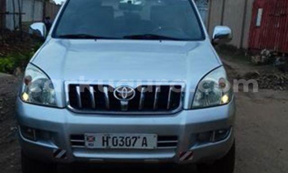 Acheter Occasion Voiture Toyota Prado Gris à Mairie au Bujumbura