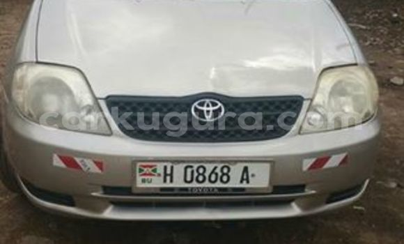 Acheter Occasions Voiture Toyota Corolla Gris à Mairie au Bujumbura