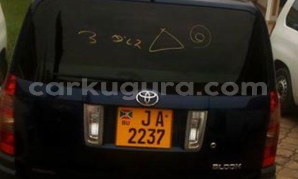 Acheter Occasion Voiture Toyota Succeed Bleu à Mairie au Bujumbura