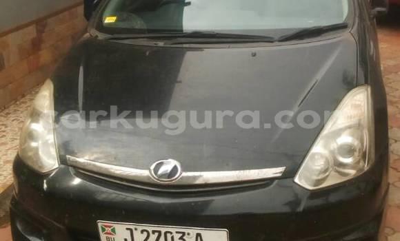 Acheter Occasion Voiture Toyota Wish Noir à Mairie au Bujumbura