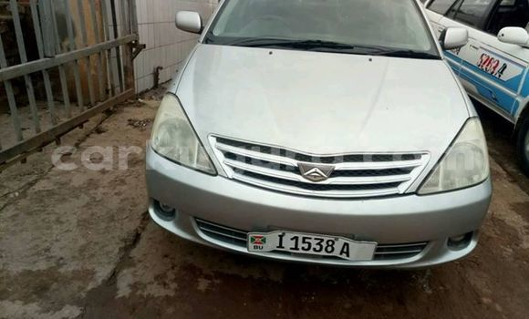Acheter Occasion Voiture Toyota Allion Gris à Muyinga au Burundi