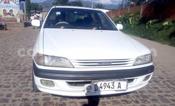 Buy Used Toyota Carina White Car in Bururi in Burundi
