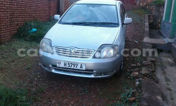 Acheter Occasion Voiture Toyota Allex Gris à Bururi au Burundi