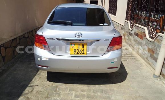 Acheter Occasion Voiture Toyota Allion Gris à Bururi, Burundi