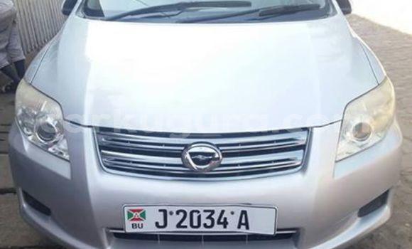Acheter Occasions Voiture Toyota Axio Gris à Bujumbura au Bujumbura