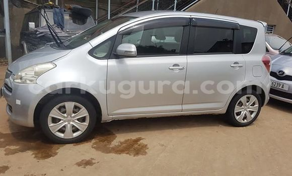 Buy Used Toyota Ractis Silver Car in Bujumbura in Bujumbura