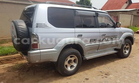 Buy Used Toyota Land Cruiser Prado Silver Car in Bujumbura in Bujumbura