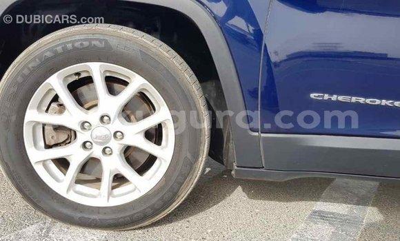 Acheter Importé Voiture Jeep Cherokee Bleu à Import - Dubai, Bujumbura