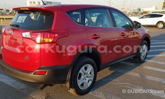 Acheter Importé Voiture Toyota RAV4 Rouge à Import - Dubai, Bujumbura