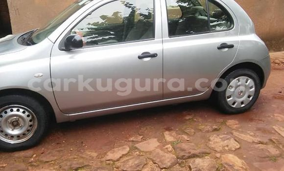 Acheter Occasion Voiture Nissan March Gris à Bujumbura, Bujumbura