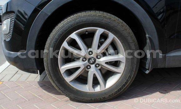 Acheter Importé Voiture Hyundai Santa Fe Noir à Import - Dubai, Bujumbura