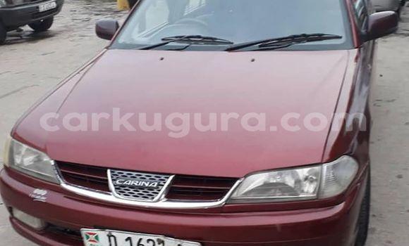 Acheter Occasion Voiture Toyota Carina Rouge à Bujumbura, Bujumbura