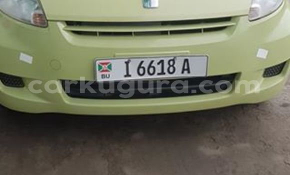 Acheter Occasion Voiture Toyota Passo Vert à Bujumbura, Bujumbura