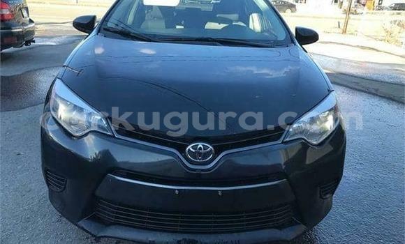 Acheter Occasion Voiture Toyota Corolla Noir à Bujumbura, Bujumbura